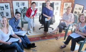 From left to right:  Benna, Tony, Melanie, Tamara, Ageha and Sally